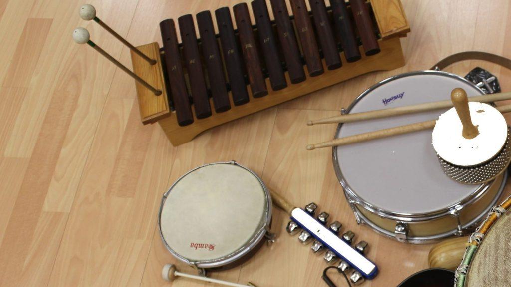 Instrumentos en musicoterapia