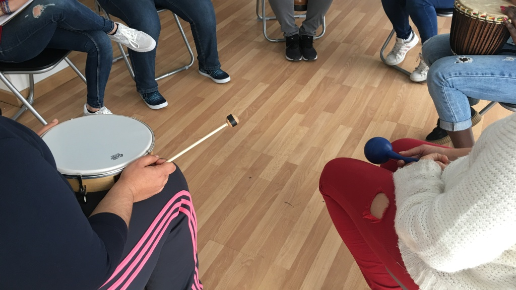 Improvisación en musicoterapia